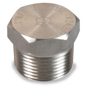 NPT Hex Plug Stainless Steel