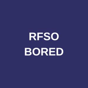 RFSO BORED O/D