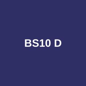 BS10 TABLE D